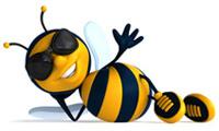 БиКопи.Ру - биржи копирайтинга (пчела-лого)