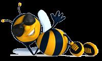 BeeCopy.Ru - пчела, логотип